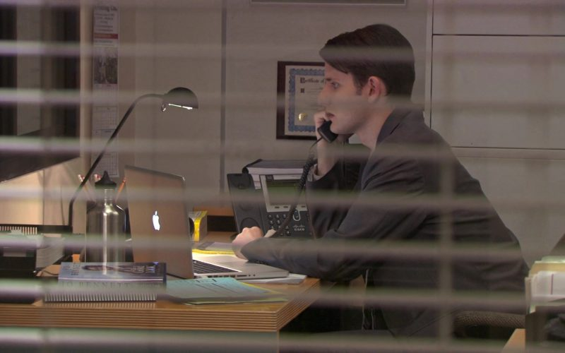 Apple MacBook Pro Laptop and Cisco Phone Used by Zach Woods (Gabe Lewis) in The Office (1)