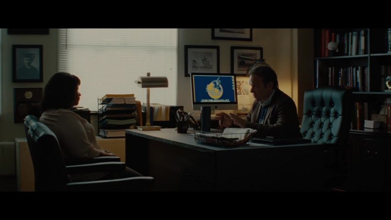 Apple iMac Computer Used by Norbert Leo Butz in Luce (2019) - Movie Product Placement