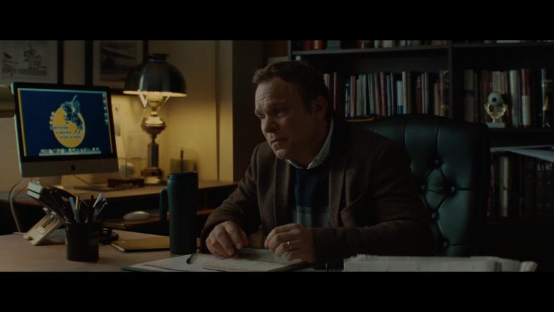 Apple iMac Computer Used by Norbert Leo Butz in Luce (2019) Movie Product Placement