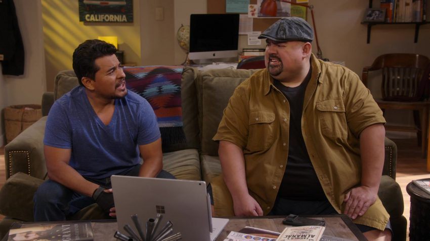 """Apple iMac Computer and Microsoft Surface in Mr. Iglesias - Season 1, Episode 3, """"Full Hearts, Clear Backpacks"""" (2019) - TV Show Product Placement"""