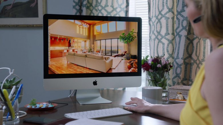 Apple iMac Computer in Claws - Season 3, Episode 3, Welcome to the Pleasuredome (2019) - TV Show Product Placement