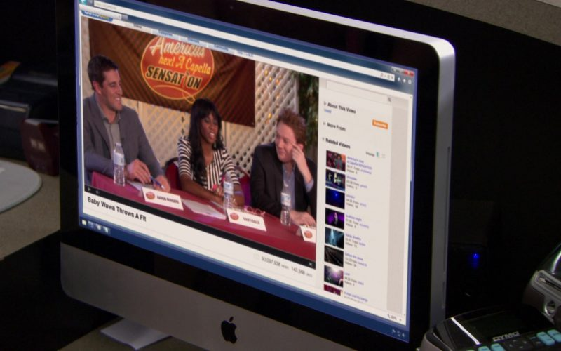 Apple iMac Computer in The Office – Season 9, Episodes 24-25, Finale