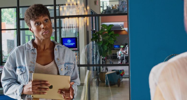 Apple iPad Tablet Used by Issa Rae in Little (2019) - Movie Product Placement