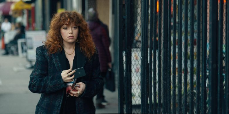 "Apple iPhone Held by Natasha Lyonne (as Nadia Vulvokov) in Russian Doll - Season 1, Episode 3, ""A Warm Body"" (2019) TV Show Product Placement"