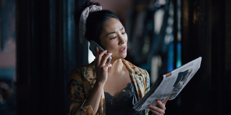 """Apple iPhone Smartphone Used by Greta Lee in Russian Doll - Season 1, Episode 2, """"The Great Escape"""" (2019) - TV Show Product Placement"""