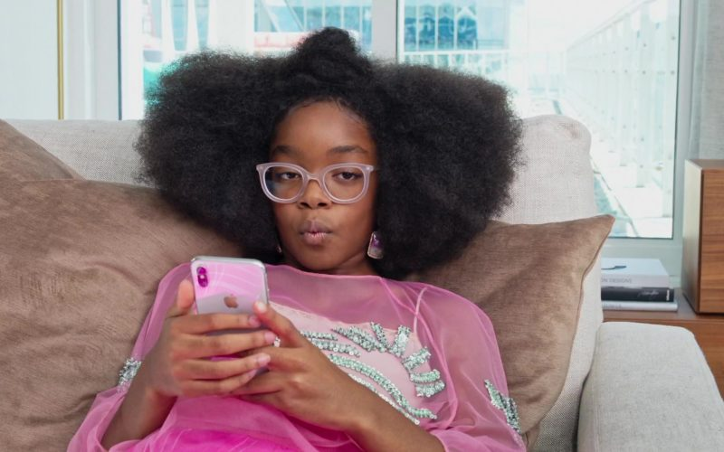 Apple iPhone Smartphone Used by Marsai Martin in Little (1)