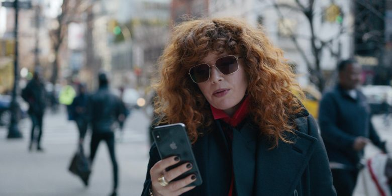 "Apple iPhone Smartphone Used by Natasha Lyonne (as Nadia Vulvokov) in Russian Doll - Season 1, Episode 4, ""Alan's Routine"" (2019) TV Show Product Placement"