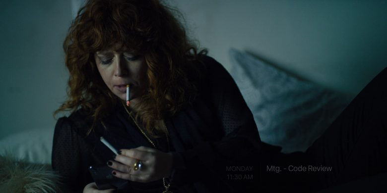 "Apple iPhone Smartphone Used by Natasha Lyonne in Russian Doll - Season 1, Episode 2, ""The Great Escape"" (2019) TV Show Product Placement"