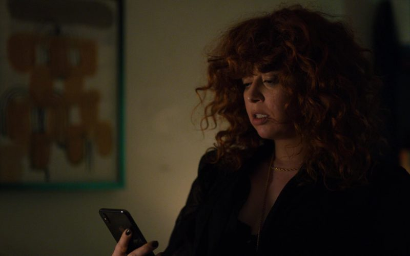 Apple iPhone Used by Natasha Lyonne in Russian Doll – Season 1, Episode 8