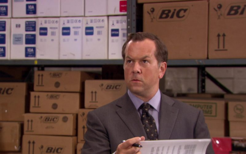 BIC in The Office – Season 6, Episode 14
