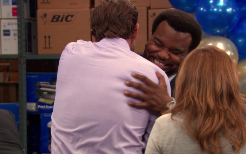 BIC in The Office – Season 9, Episodes 24-25, Finale