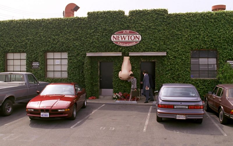 BMW 850i [E31] Red Car Used by Patricia Heaton in Beethoven (1)