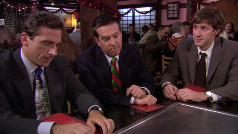"Benihana Japanese Restaurant in The Office – Season 3, Episode 10-11, ""A Benihana Christmas"" (2006) TV Show Product Placement"