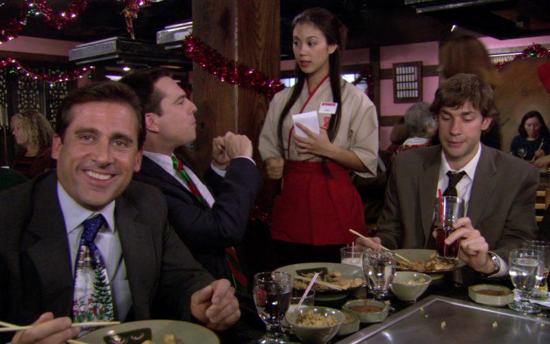 Benihana Japanese Restaurant in The Office – Season 3, Episode 10-11 (14)