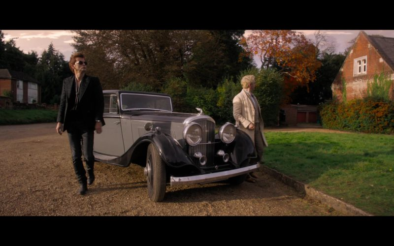 Bentley Car in Good Omens (1)