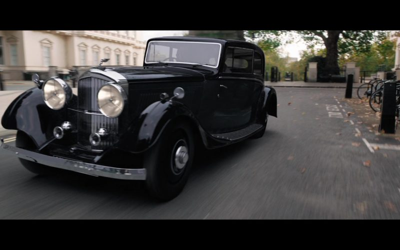 Bentley Retro Car in Good Omens