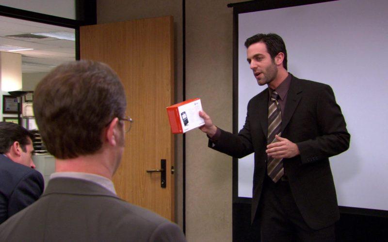 Blackberry Mobile Phone Held by B. J. Novak (Ryan Howard) in The Office (1)