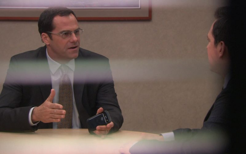 Blackberry Mobile Phone Used by Andy Buckley (David Wallace) in The Office (1)
