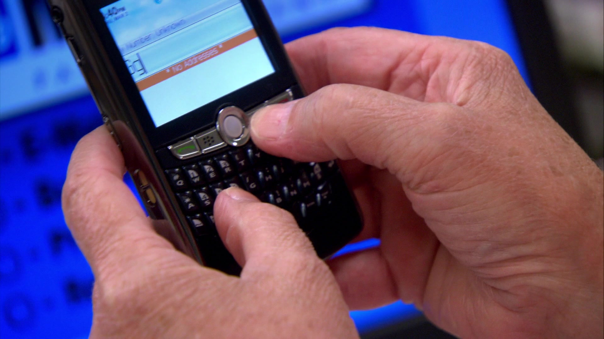 Blackberry Mobile Phone Used by Phyllis Smith (Phyllis Vance) in The