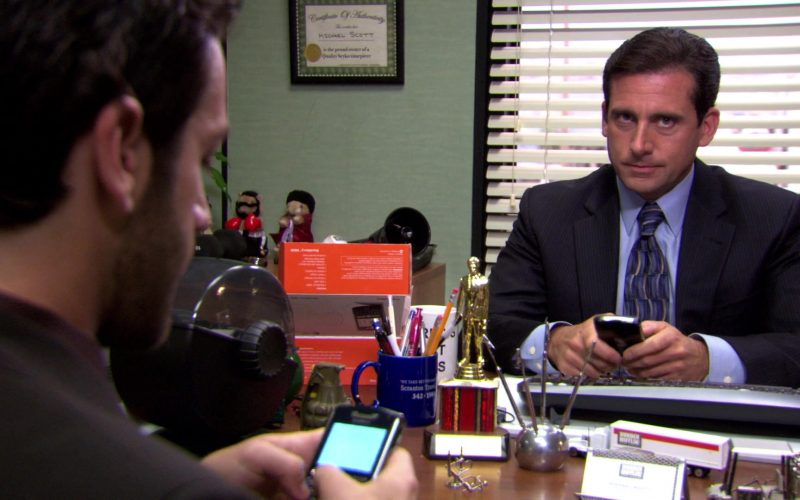 Blackberry Mobile Phone Used by Steve Carell (Michael Scott) in The Office (1)
