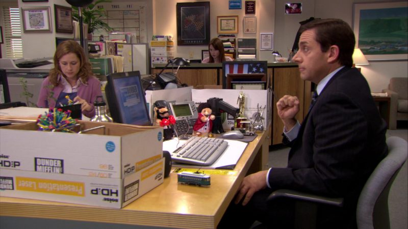 """Boise Paper Box in The Office – Season 6, Episode 16, """"The Manager and the Salesman"""" (2010) - TV Show Product Placement"""