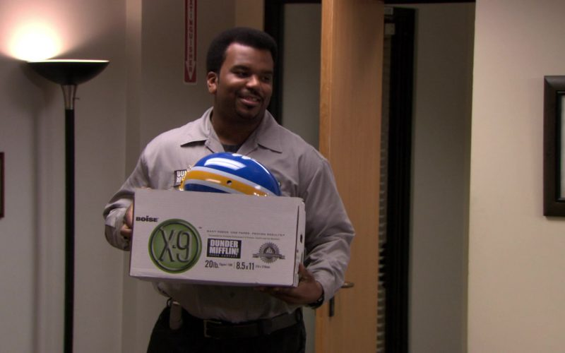 Boise X-9 Paper Box Used by Craig Robinson (Darryl Philbin) in The Office