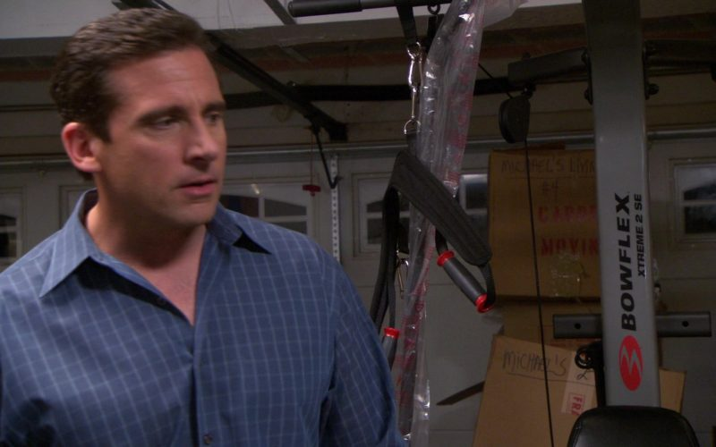 Bowflex Fitness Training System Used by Steve Carell (Michael Scott) in The Office (1)