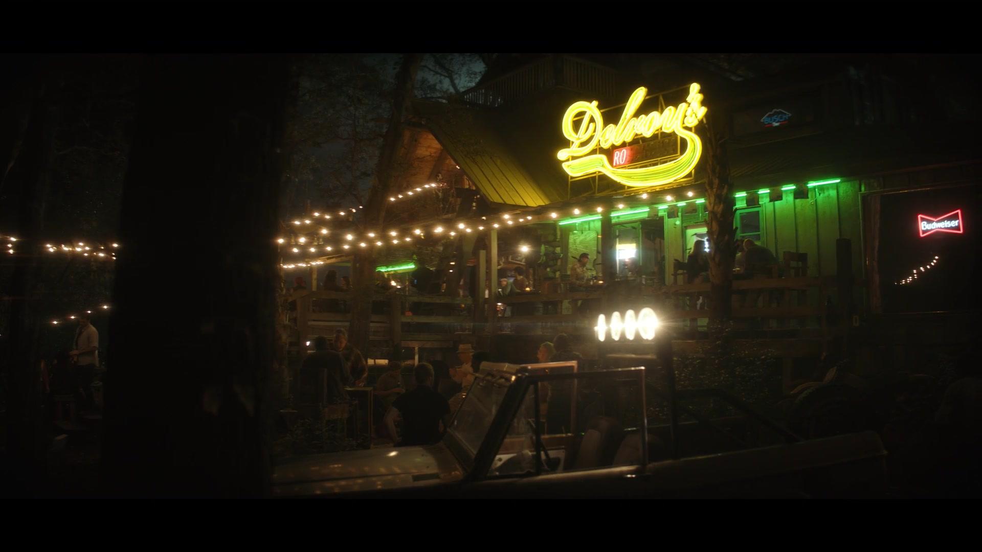 Budweiser Sign In Swamp Thing Season 1 Episode 1 Pilot