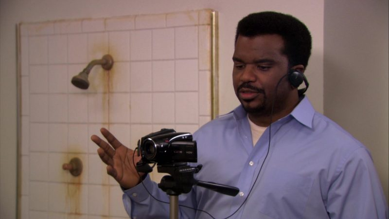 "Canon Camcorder Used by Craig Robinson (Darryl Philbin) in The Office – Season 6, Episode 24, ""The Cover-Up"" (2010) - TV Show Product Placement"