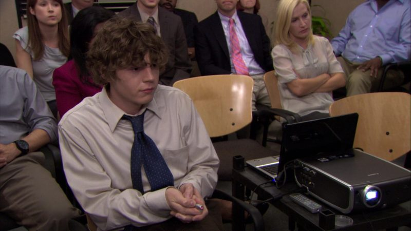 "Canon Projector in The Office – Season 7, Episode 1, ""Nepotism"" (2010) - TV Show Product Placement"