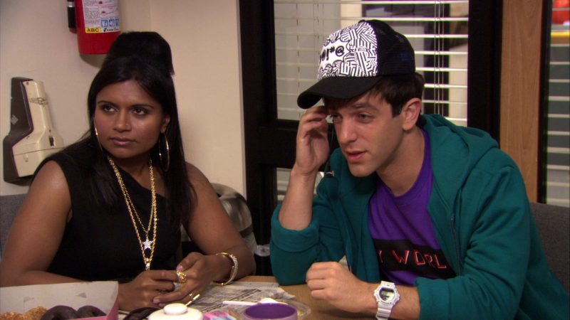 "Casio G-Shock White Wrist Watch Worn by B. J. Novak (Ryan Howard) in The Office – Season 7, Episode 6, ""Costume Contest"" (2010) TV Show Product Placement"