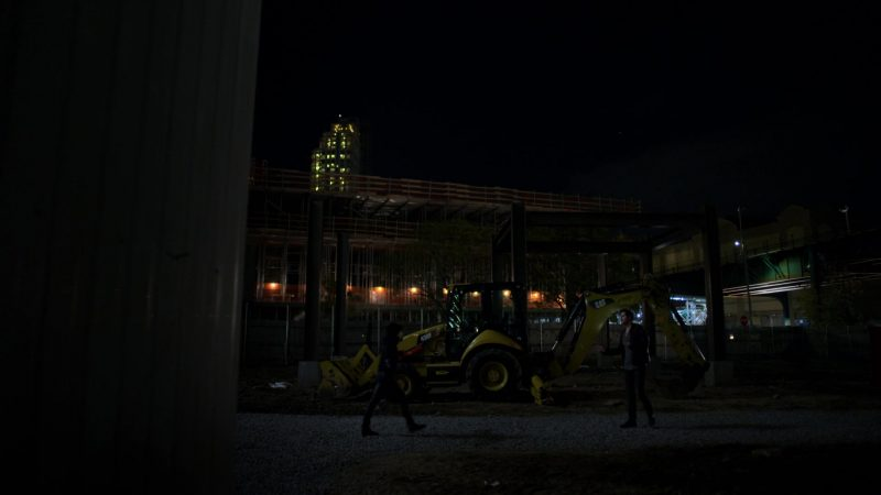 "Cat Excavator in Jessica Jones - Season 3, Episode 11, ""A.K.A Hellcat"" (2019) - TV Show Product Placement"