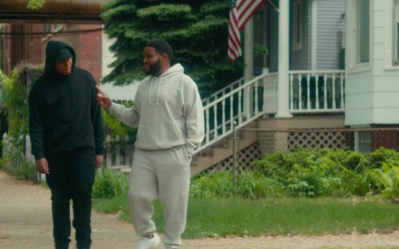 Champion Hoodie & Sweatpants Worn by Anthony Anderson in Beats