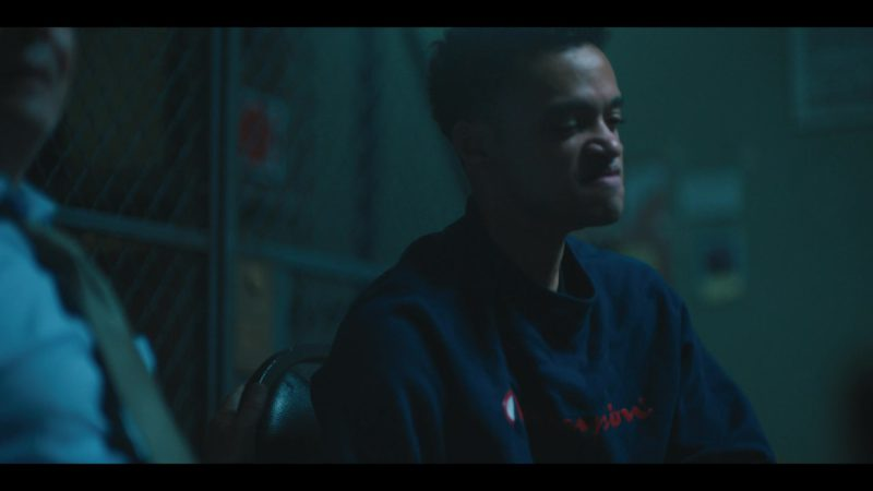 Champion Sweatshirt Worn by Marquis Rodriguez in When They See Us - Season 1, Episode 1 (2019) - TV Show Product Placement