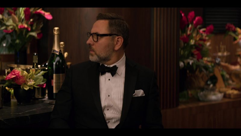 Chandon Champagne Bottles in Murder Mystery (2019) - Movie Product Placement