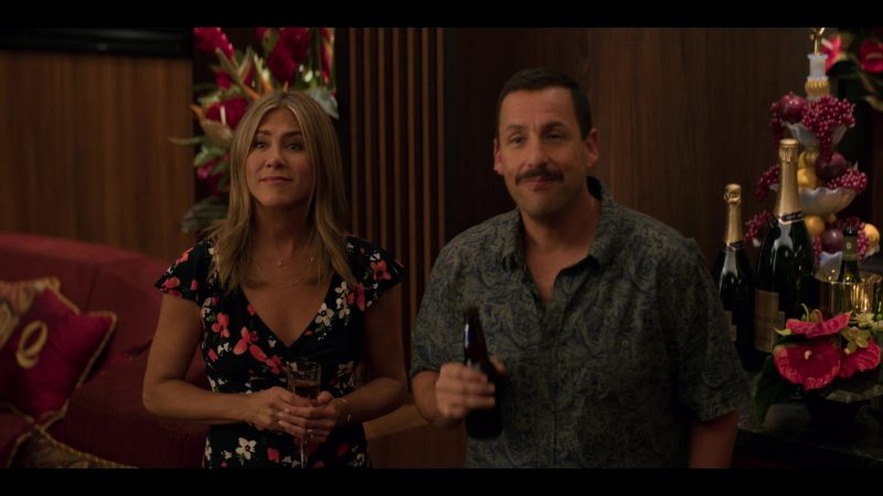 Chandon Champagne Bottles in Murder Mystery (2019) Movie Product Placement