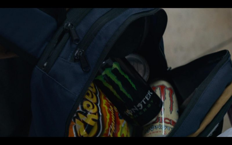 Cheetos and Monster Energy Drinks in Murder Mystery