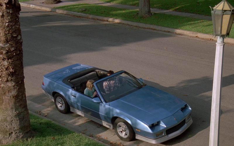Chevrolet Camaro Blue Convertible Car in Beethoven's 2nd (1)