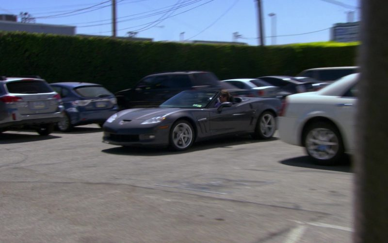 Chevrolet Corvette (C6) Convertible Car Used by James Spader (Robert California) in The Office (1)