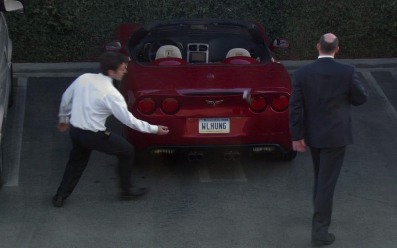 Chevrolet Corvette C6 Convertible Red Car Used by David Koechner (Todd Packer) (1)