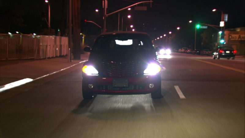 "Chrysler PT Cruiser Red Convertible Car Used by Steve Carell (Michael Scott) in The Office – Season 4, Episode 12, ""The Deposition"" (2007) - TV Show Product Placement"
