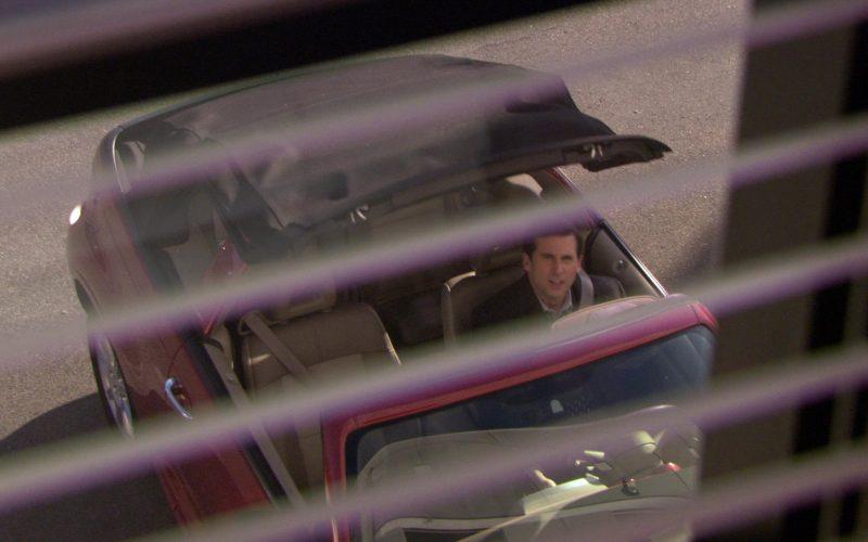 Chrysler PT Cruiser Convertible Red Car Driven by Steve Carell (Michael Scott) in The Office – Season 5 (1)