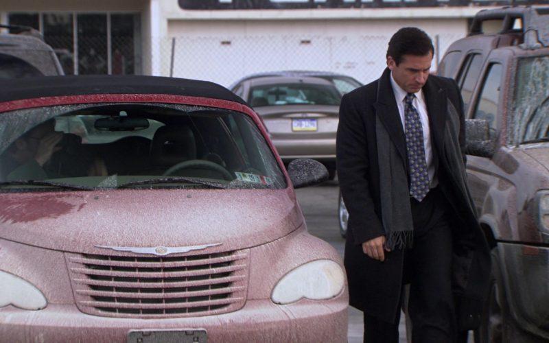 Chrysler PT Cruiser Convertible Red Car Driven by Steve Carell (Michael Scott) in The Office (2)