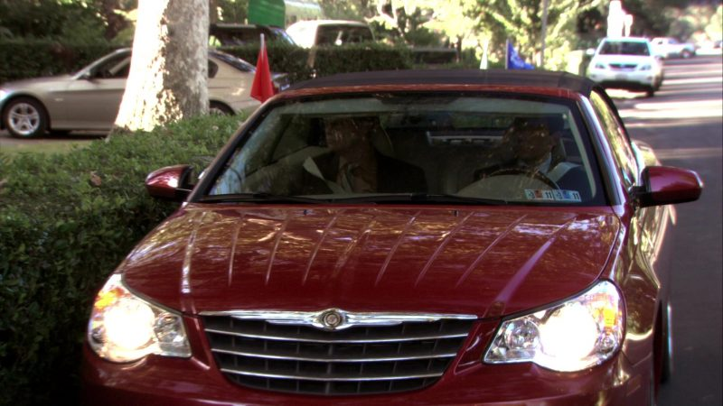 """Chrysler Sebring Convertible Car Used by Steve Carell (Michael Scott) in The Office – Season 7, Episode 4, """"Sex Ed"""" (2010) - TV Show Product Placement"""