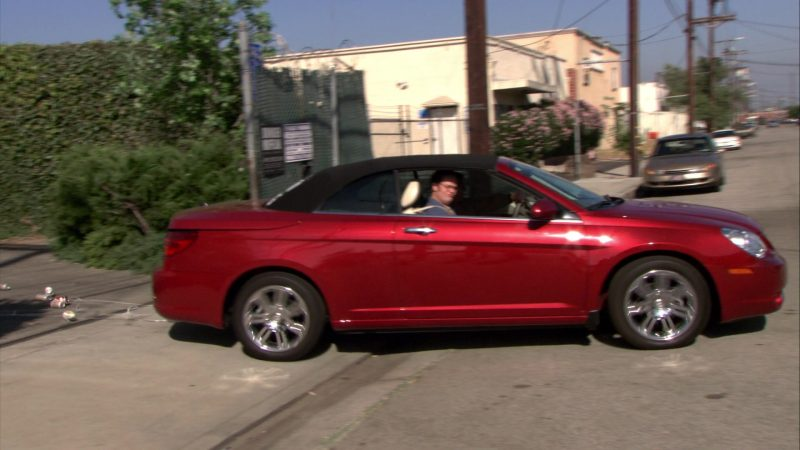 "Chrysler Sebring Convertible Car Used by Steve Carell (Michael Scott) in The Office – Season 6, Episodes 4-5, ""Niagara"" (2009) TV Show Product Placement"