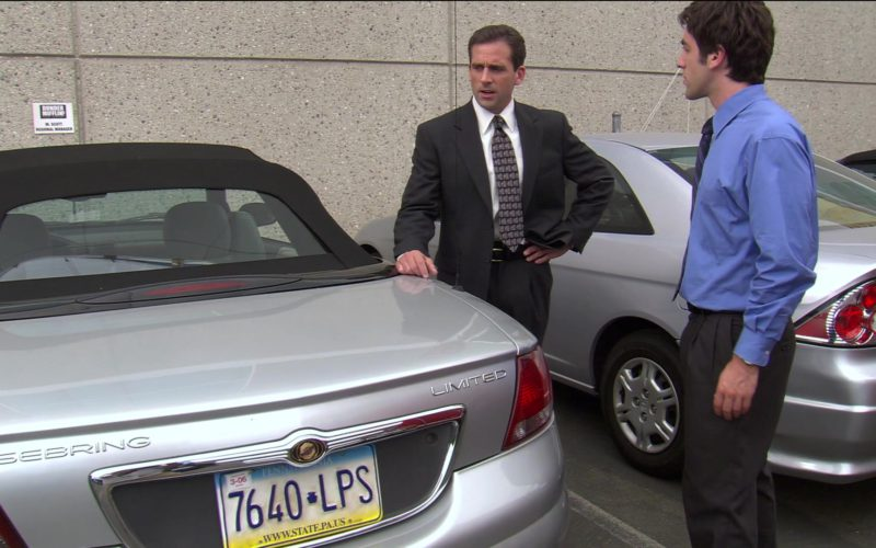 Chrysler Sebring Convertible Car Used by Steve Carell (Michael Scott) in The Office