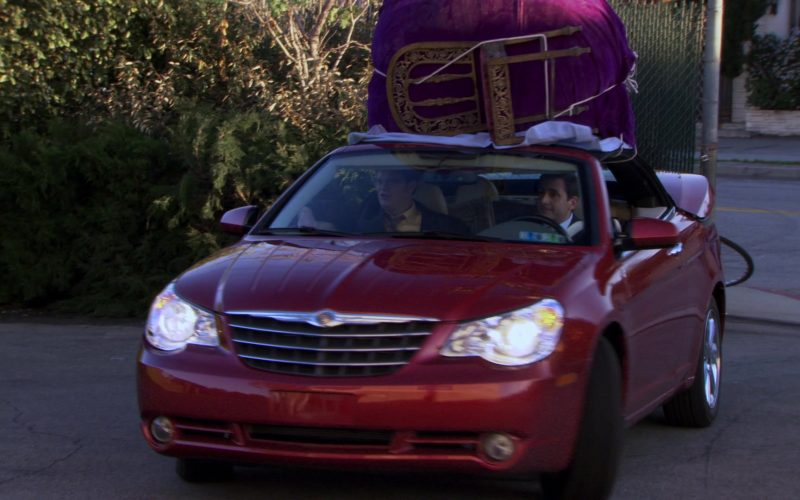 Chrysler Sebring Convertible Red Car Used by Steve Carell (Michael Scott) (1)