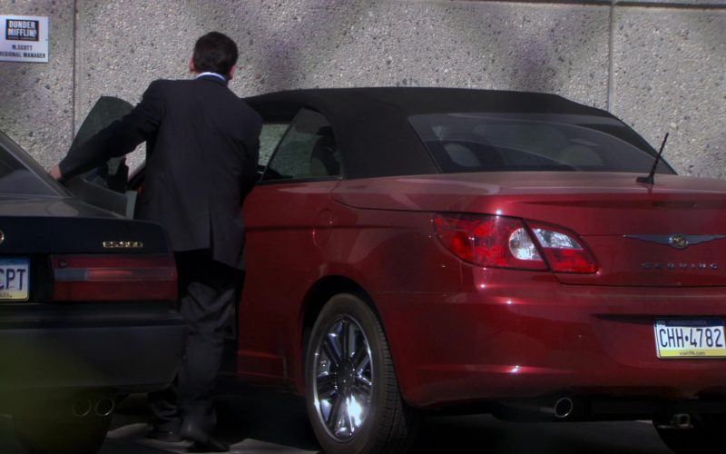 Chrysler Sebring Convertible Red Car Used by Steve Carell (Michael Scott) in The Office (1)