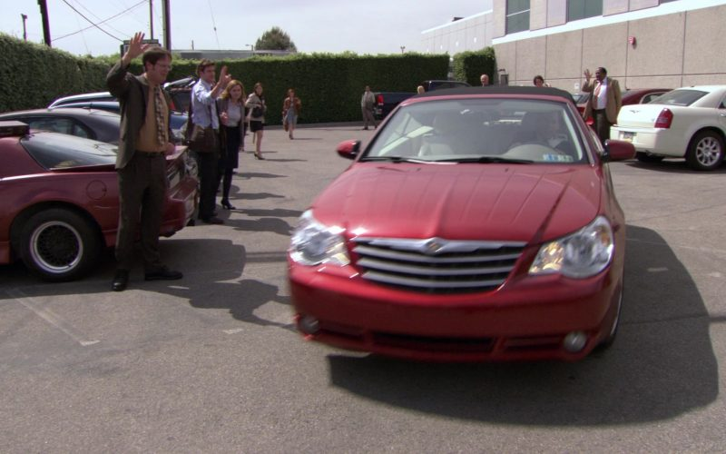 Chrysler Sebring Convertible Red Car Used by Steve Carell (Michael Scott) in The Office (2)