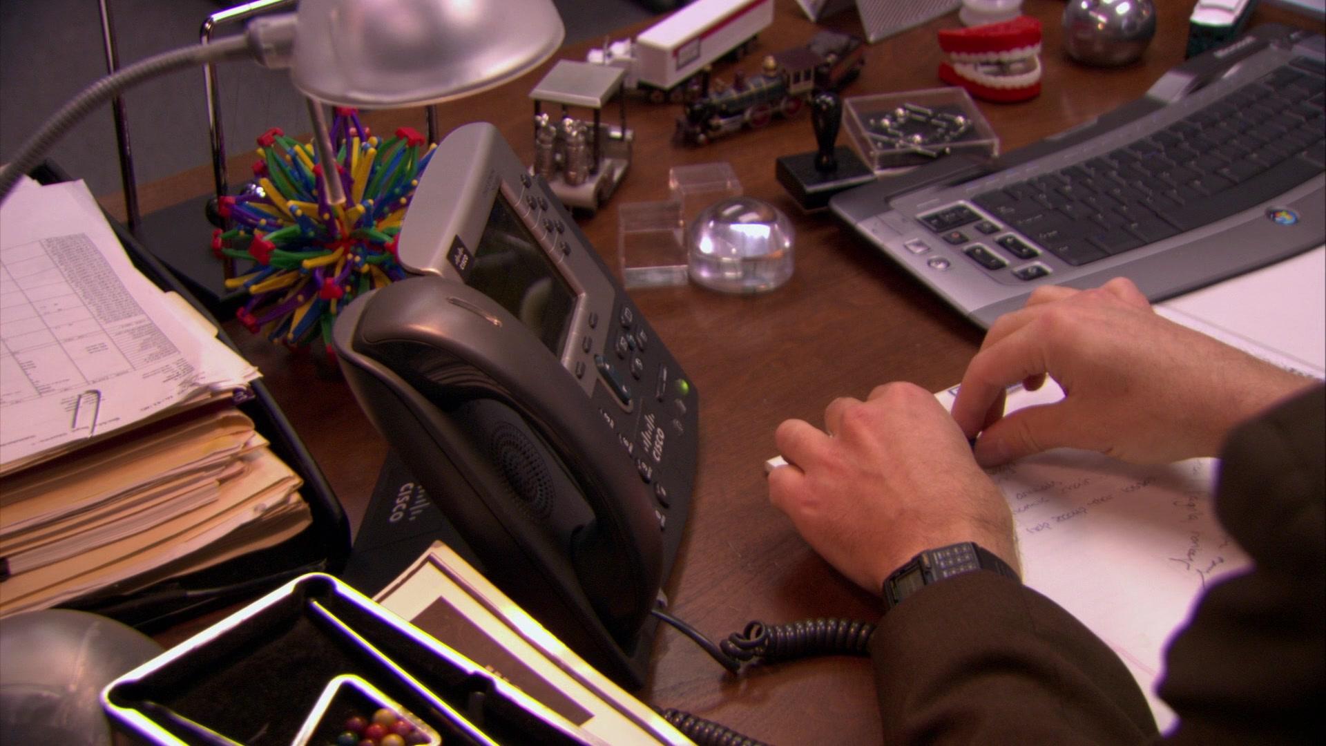 Cisco IP Phone Used by Steve Carell (Michael Scott) & Rainn